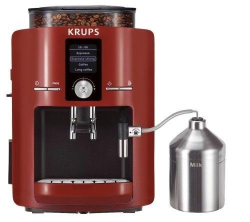 Cafetera Krups Espresseria Roja