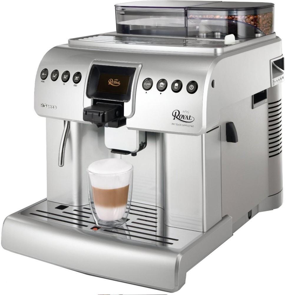 Cafetera Saeco royal Plateada