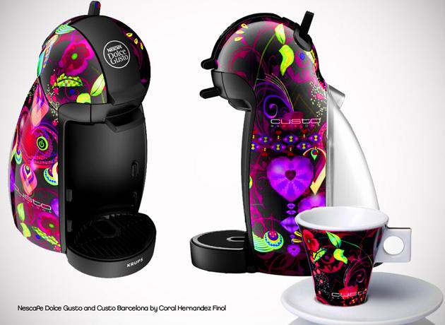Diseño de las Cafetera Dolce Gusto Piccolo Custo