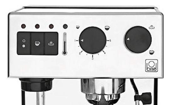 Diseño del panel de la Cafetera Briel seg162