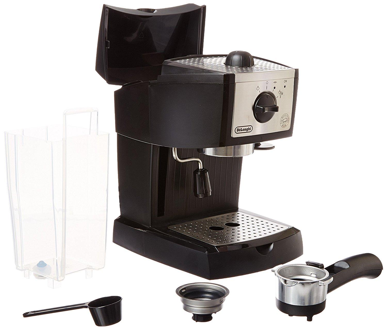 caracteristicas de la cafetera delonghi ec155